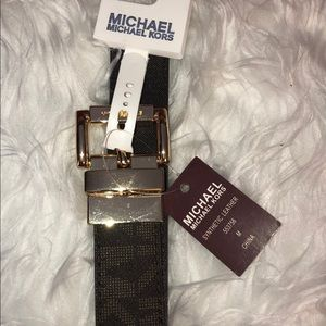 Michael Kors Accessories - Michael Kors Belt 553756C Women's Reversible Logo